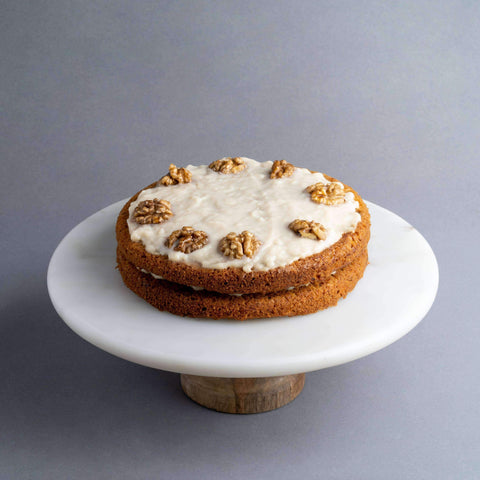 "Vegan Carrot Cake 7.5"" - Healthy Cakes - Baked KL - - - - Eat Cake Today - Birthday Cake Delivery - KL/PJ/Malaysia"
