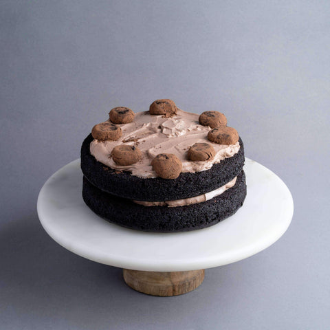 "Vegan Dark Chocolate Truffle Cake 7.5"" - Healthy Cakes - Baked KL - - - - Eat Cake Today - Birthday Cake Delivery - KL/PJ/Malaysia"
