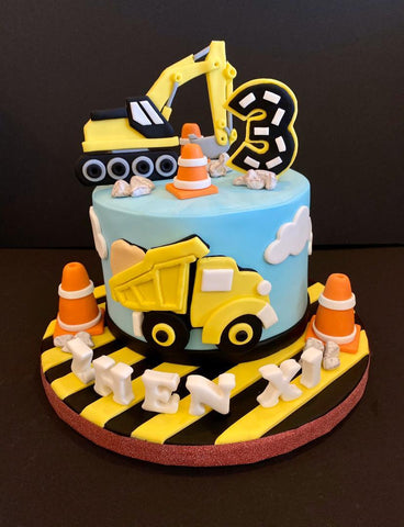 Vehicle Theme Cake 5 inch - Customized Cake - B'Sweetbites - - Eat Cake Today - Birthday Cake Delivery - KL/PJ/Malaysia
