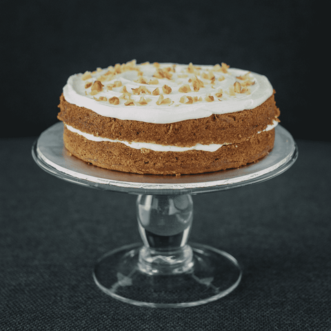 V's Carrot Cake 9 inch - Healthy Cakes - V Slice - - - - Eat Cake Today - Birthday Cake Delivery - KL/PJ/Malaysia