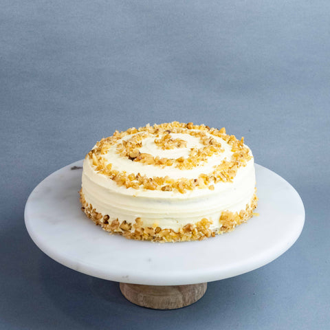 Walnut Carrot Cake - Buttercakes - Well Bakes - - Eat Cake Today - Birthday Cake Delivery - KL/PJ/Malaysia
