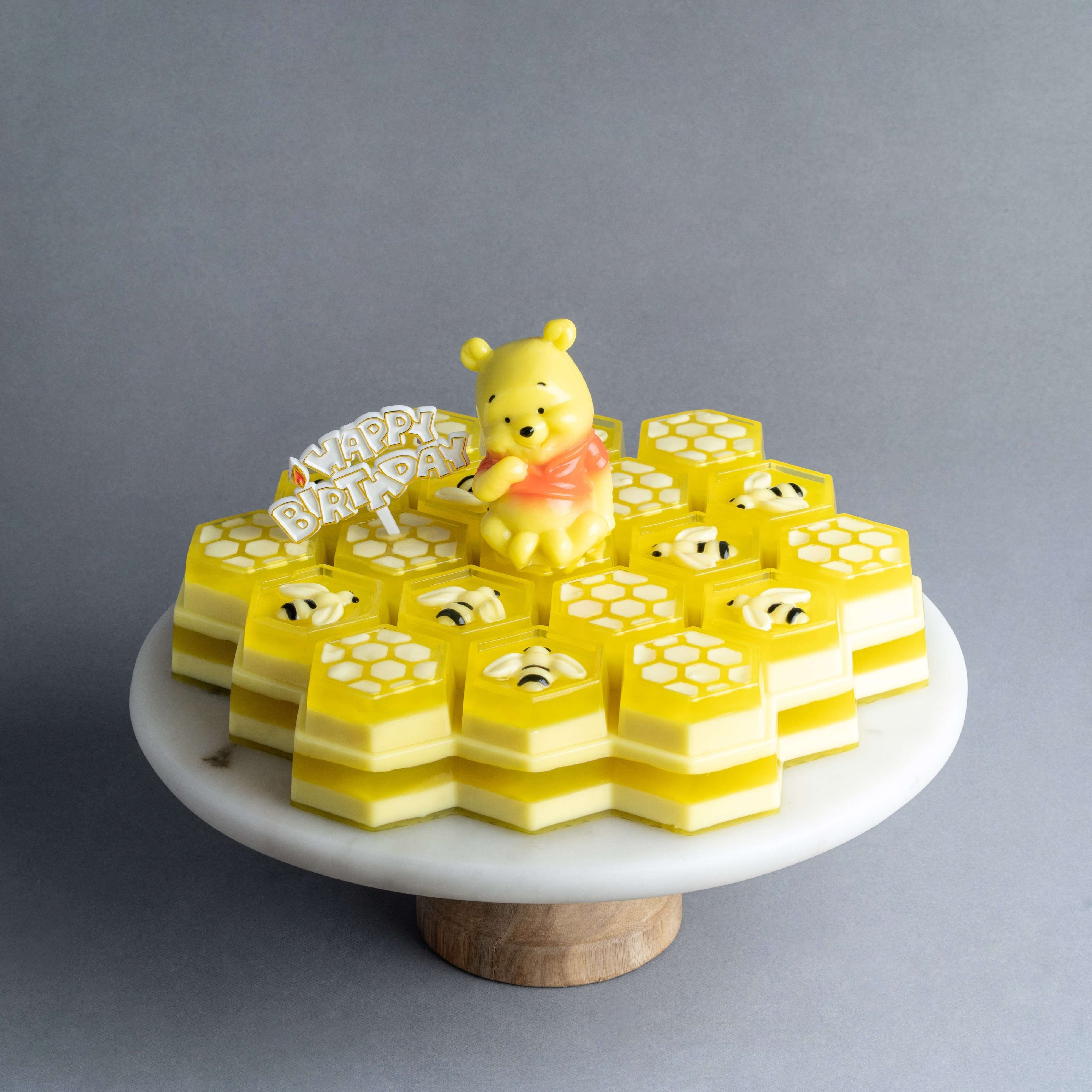 Excellent Winnie The Pooh Jelly Cake Eat Cake Today Birthday Cake Funny Birthday Cards Online Alyptdamsfinfo