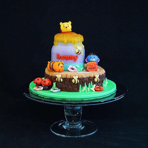 Winnie the Pooh Jelly Cake - Jelly Cakes - Q Jelly Bakery - - Eat Cake Today - Birthday Cake Delivery - KL/PJ/Malaysia