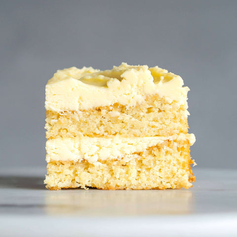 "Zesty Lemon Cake 9"" - Butter Cake - Huckleberry Food & Fare - - Eat Cake Today - Birthday Cake Delivery - KL/PJ/Malaysia"