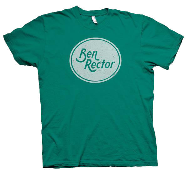 Teal Oval Logo Shirt