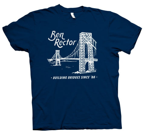"""Bridge"" Navy T-Shirt"