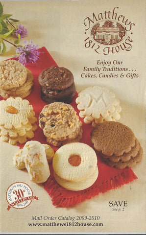 Catalog Cover 2009 Cookies