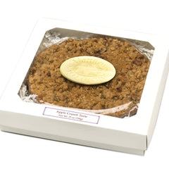 Apple Crumb Torte in gift box