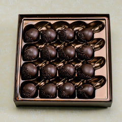 Dark Chocolate Covered Cherries in a box