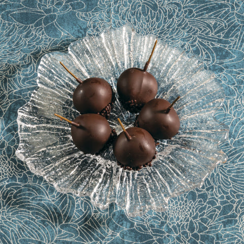 Dark Chocolate Covered Cherries in Armagnac