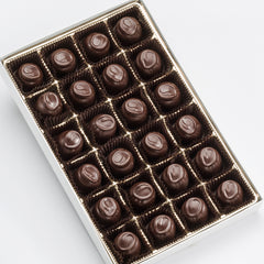 Dark Chocolate Cherry Cordials in Gift Box