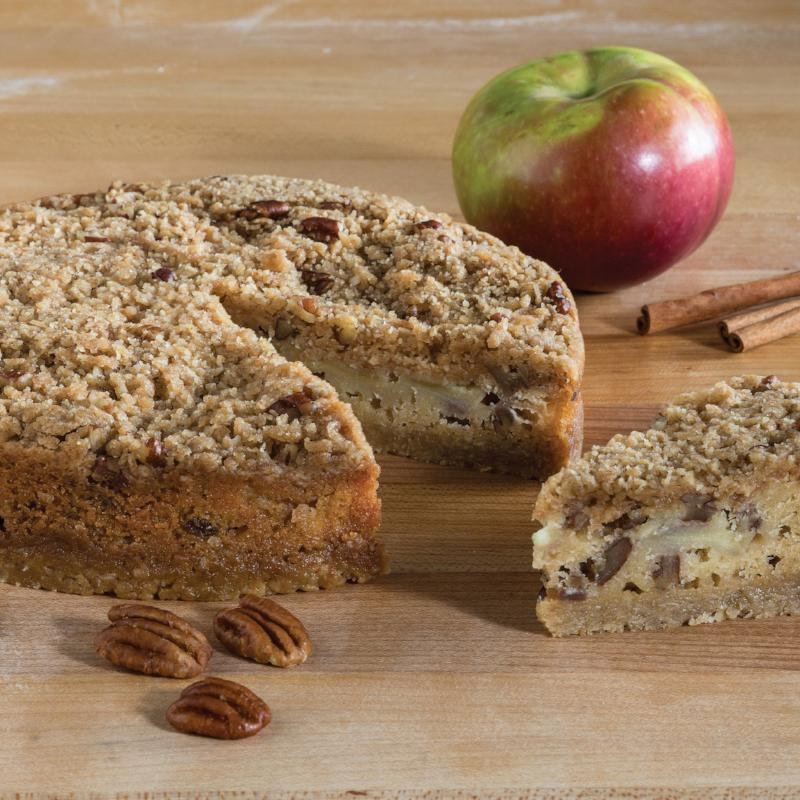 Apple Crumb Torte