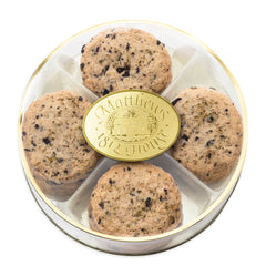 Kalamata Olive Cookies in gift round