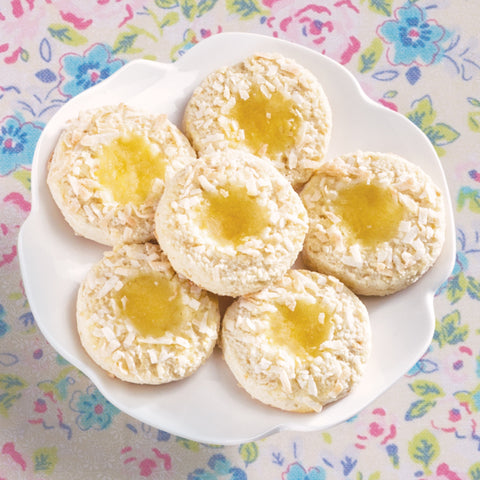 New! Lemon Coconut Cookies