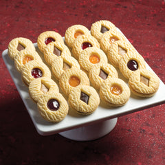 Assorted Petit Cookies in a plate