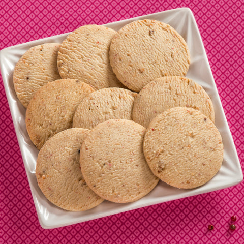 Pink Peppercorn Cookies