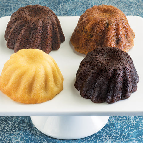 Mini Bundt Quartet Cake Sampler