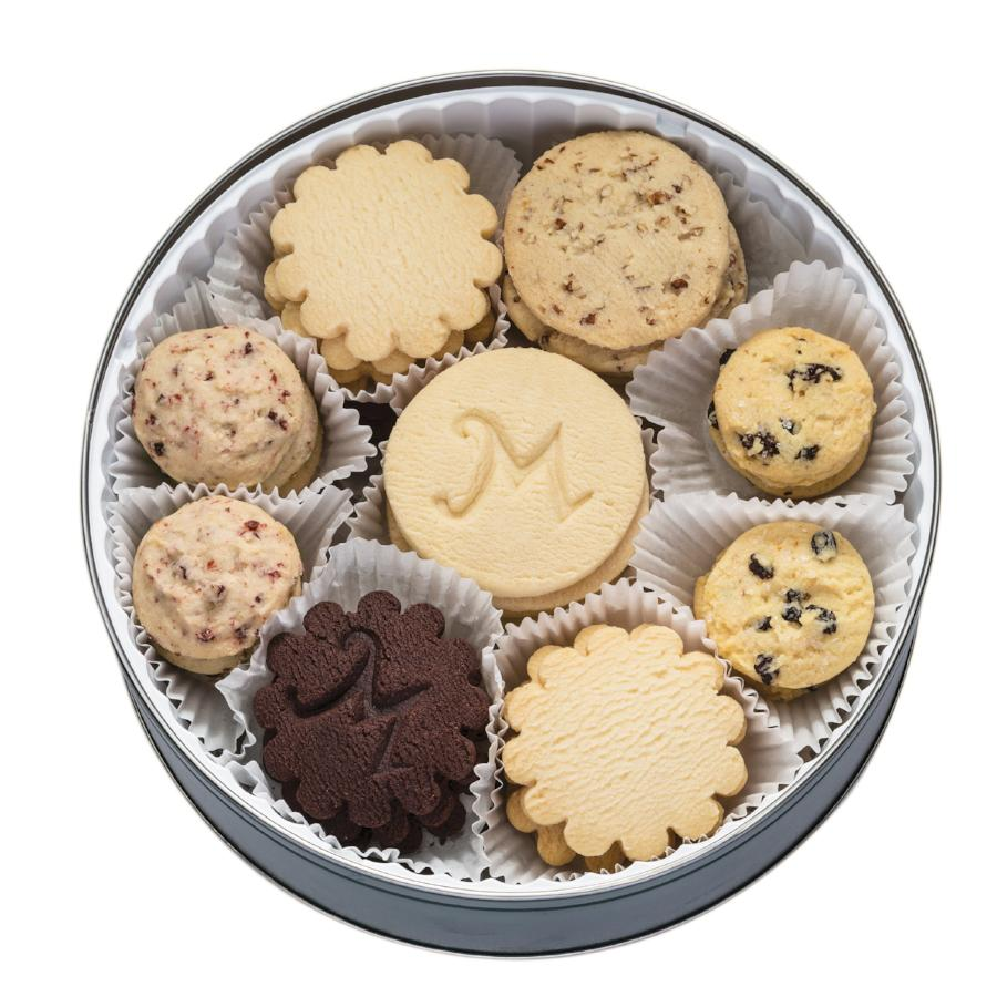 Shortbread Cookie Collection in a Tin