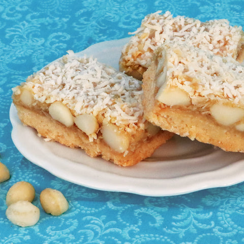 Macadamia Coconut Bar