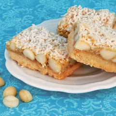 Macadamia Coconut Bars