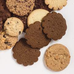 Molasses Cookies in a group