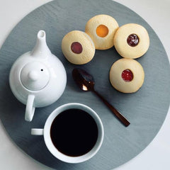 Fruit Filled Cookies with Teapot
