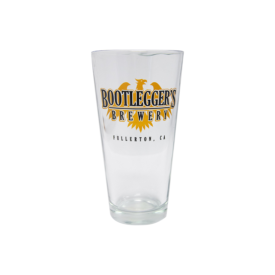 Bootlegger's 16oz Pint Glass