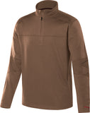 Military Fleece Mens Quarter Zip