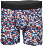 "Terramar Sports 6"" Silkskins Boxer Brief with Pouch"