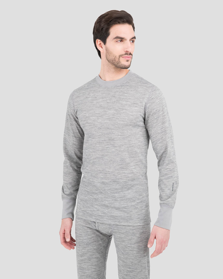 3.0 Men's Merino Bi-Layer Heritage Crew