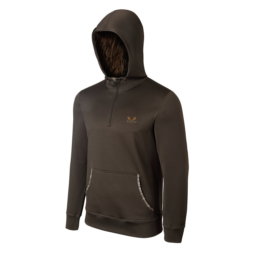 Men's Delta Marsh Quarter Zip Hoodie