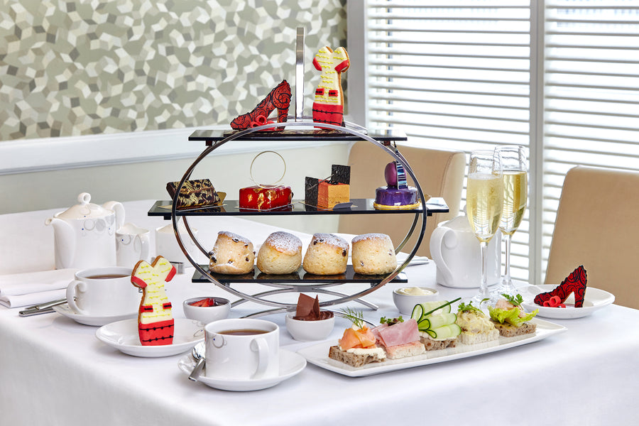 Madderson London Inspired #LFW Afternoon Tea at London Hilton on Park Lane