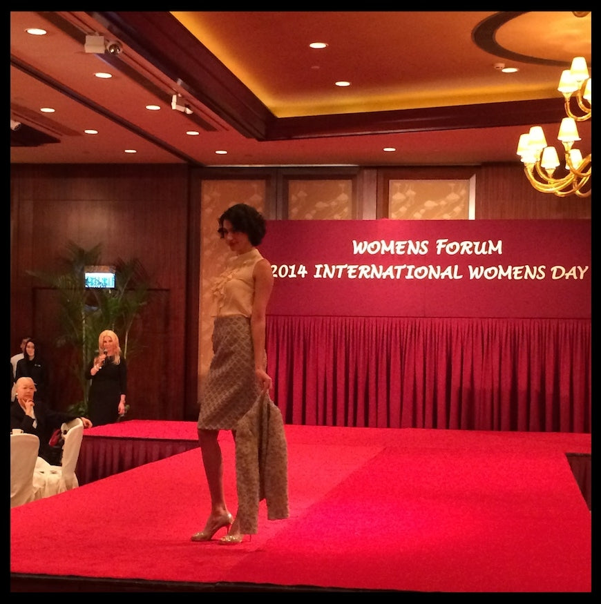 Madderson in HK: Fashion Show for International Women's Day