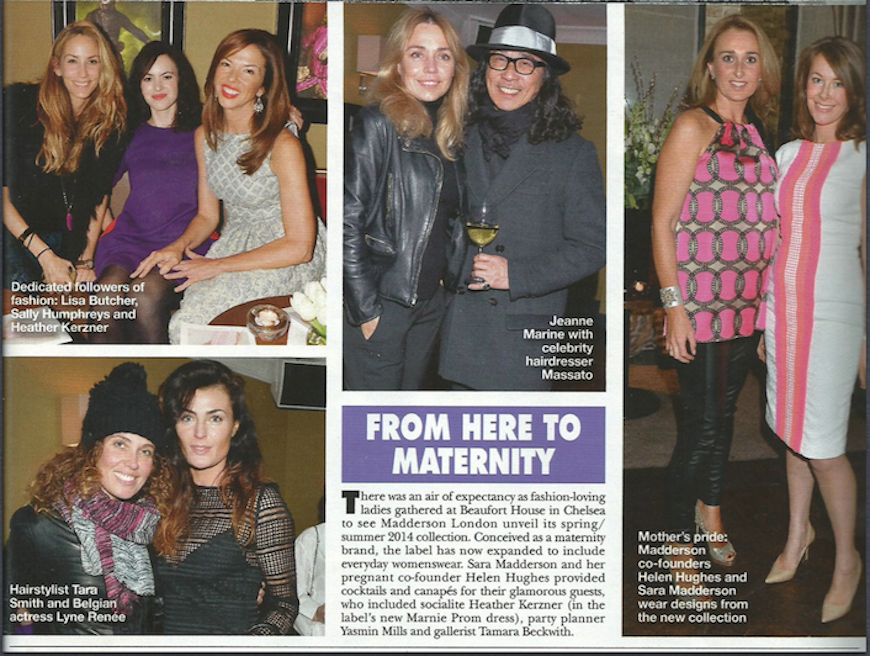 Hello! Magazine Features Womenswear Launch