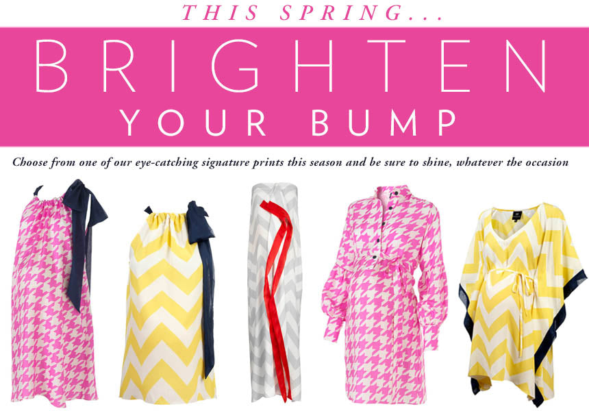 Spring Prints to Brighten your Bump