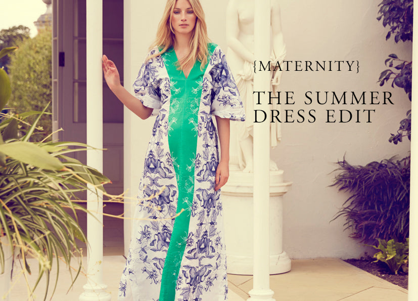 The Summer {Maternity} Dress Edit