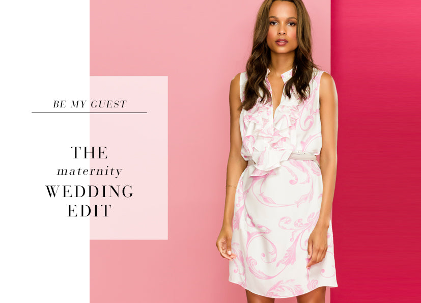 Be My Guest | The {Maternity} Wedding Edit
