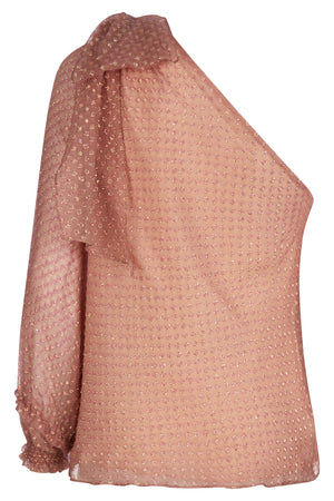 Bethany Iridescent Pink Top - Womenswear - Madderson London