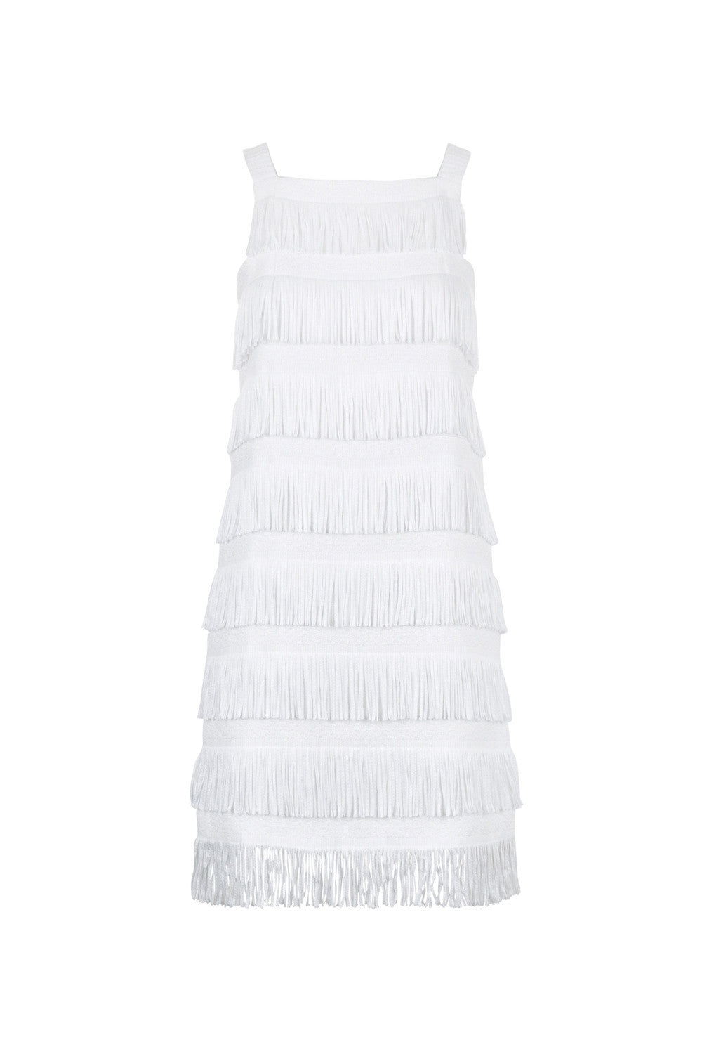 Effie Dress - White - Womenswear - Madderson London