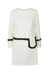 Genevieve Dress - Ivory - Womenswear Outlet - Madderson London