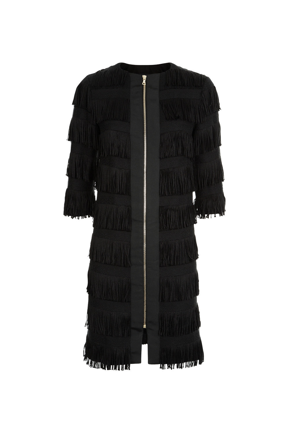 Gianna Coat - Black - Womenswear Outlet - Madderson London