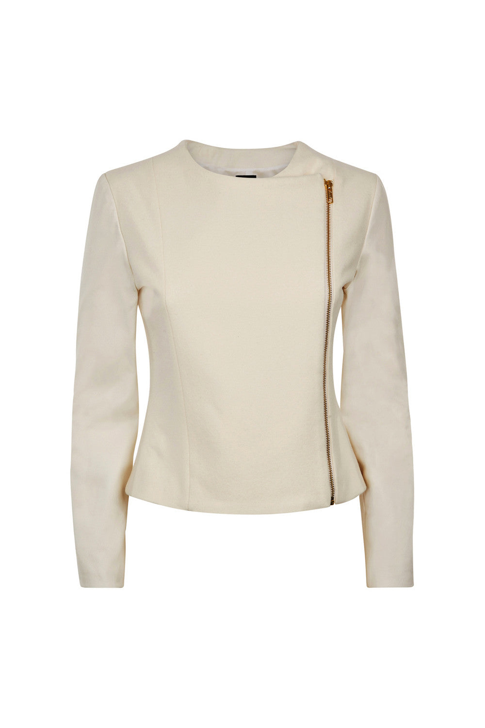 Gwen Jacket - Cream - Womenswear Outlet - Madderson London