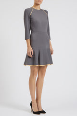 Ida Fit-and-Flare Dress - Womenswear - Madderson London