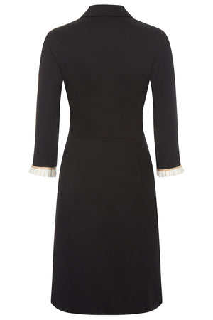 Miranda Dress Black - Womenswear - Madderson London
