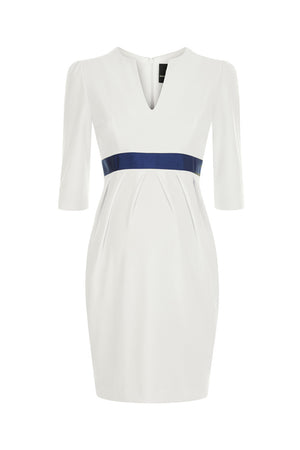 Nadine Dress - Ivory - Maternity Outlet - Madderson London
