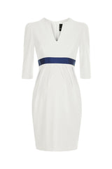Nadine Dress - Ivory - Maternity - Madderson London