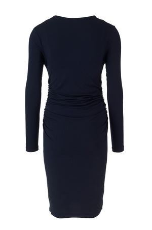 Olivia Dress - Navy - Maternity - Madderson London
