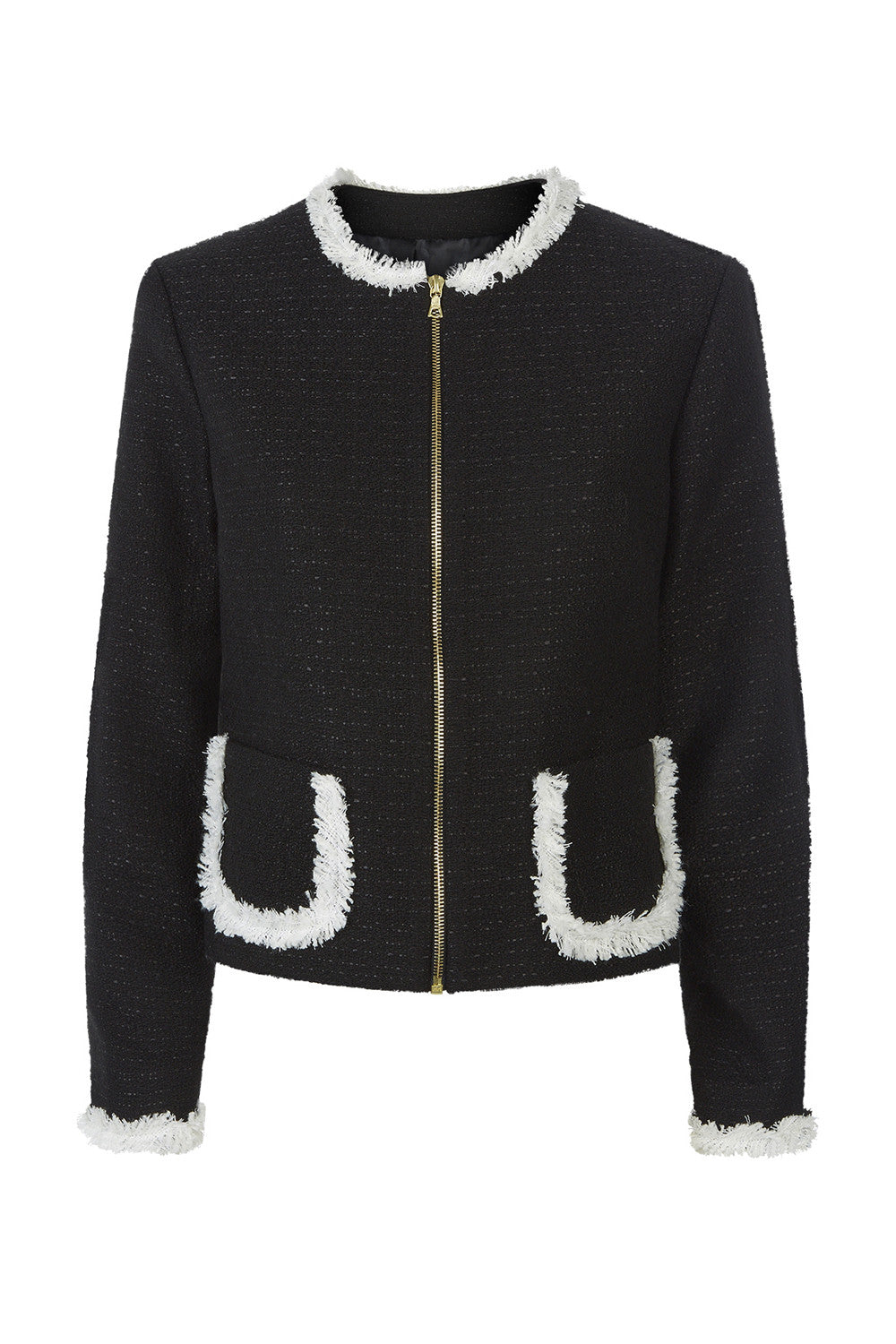 Victoria Jacket - Black - Womenswear Outlet - Madderson London