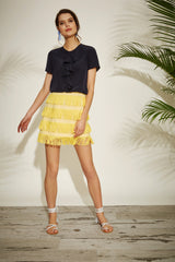 Flossie skirt - yellow - Womenswear - Madderson London