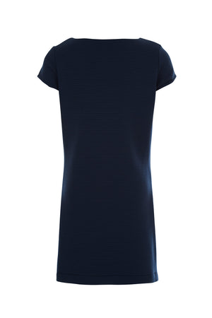 Hannah Shift - Navy Rib - Maternity Outlet - Madderson London